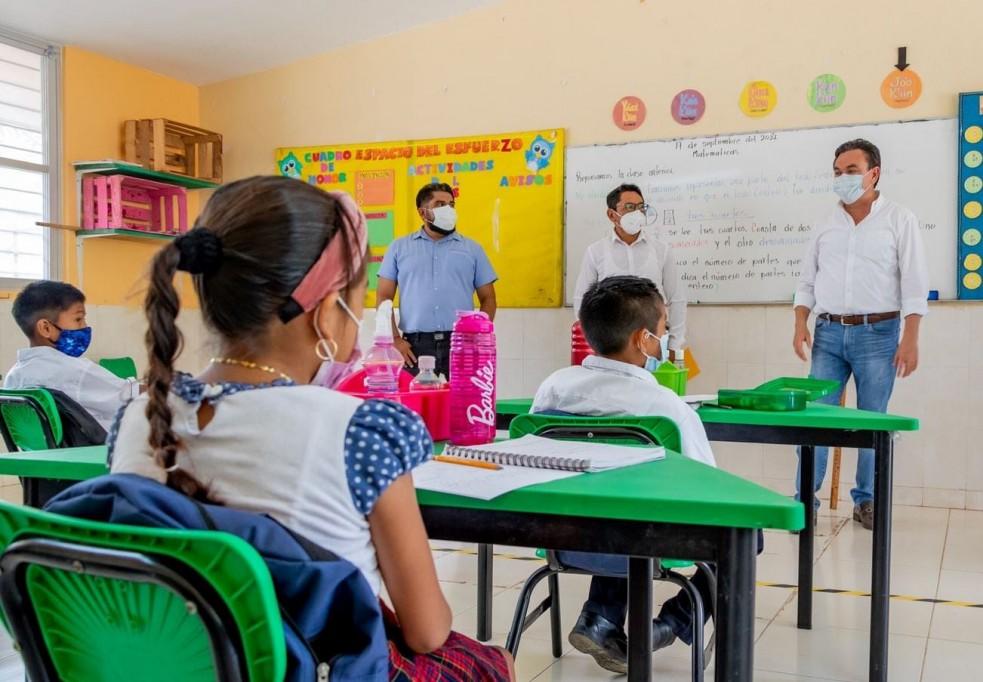 """""""No hay cierre de escuelas por Covid-19"""""""
