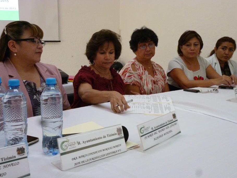 TIZIMÍN: Integran Comité de Salud Municipal.\r\n\r\n